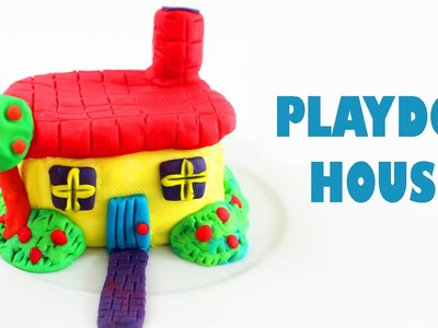 How to make a playdoh house - Kids Crafts