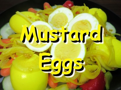 How to Make Amish Mustard Pickled Eggs Recipe