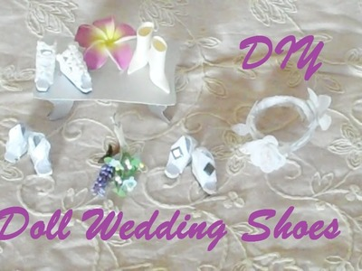 How to Make Doll Wedding Shoes (EASY)