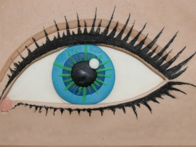 How to Make Play Doh Realistic Eye by Tiger Tomato
