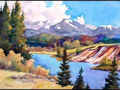 How to Paint Landscapes: Watercolor Workshop with Sharon Lynn Williams (Preview)