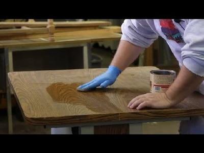 How to Restore Laminate Furniture : Furniture Restoration & General Care