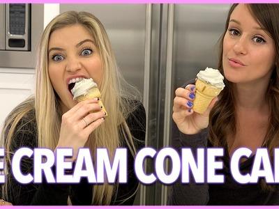 ICE CREAM CONE CAKES!