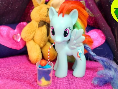 Make A Doll Milkshake. Smoothie - Doll Crafts