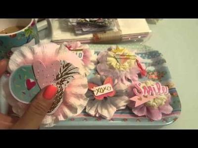 MF Crepe Paper flower embellishments
