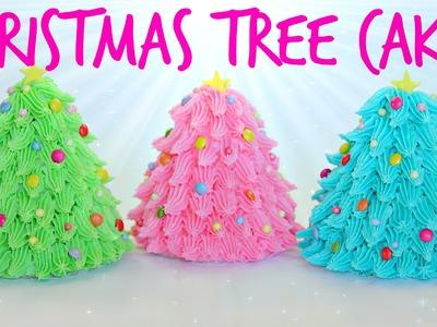 Mini Christmas Tree Cakes - CAKE STYLE