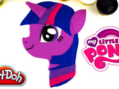 ♥ My Little Pony Friendship is Magic Twilight Sparkle Play-Doh Creation