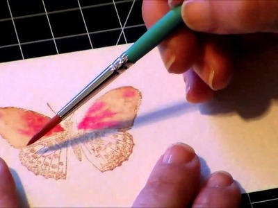 Painting Watercolor Butterflies
