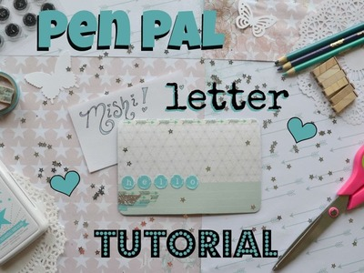 Pen Pal Letter Tutorial with Project Life Cards