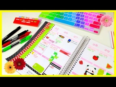 Plan With Me! #4 | Decorating My Erin Condren Planner