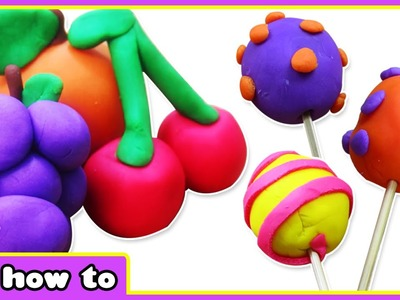 Play Doh Fruits , Lollipops And More | Awesome Play Doh Videos for Kids by HooplaKidz How To
