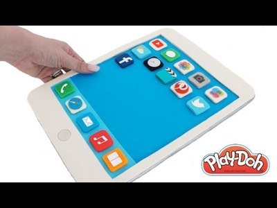 Play Doh How to Make a Play-Doh iPad Tablet DIY RainbowLearning