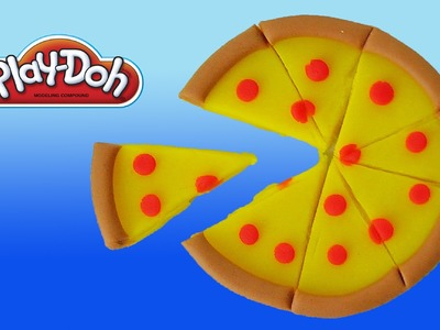 Play Doh Pepperoni Pizza