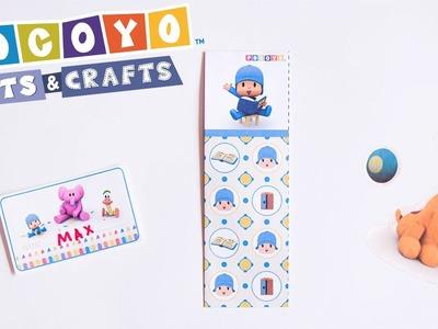 Pocoyo Arts & Crafts: Back to School Crafts [Ep 3]