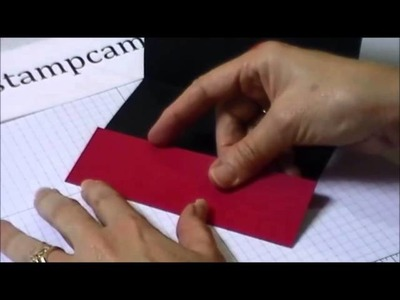 Quick Tip to Create a Money or Gift Card Holder - www.thestampcamp.com.blog.