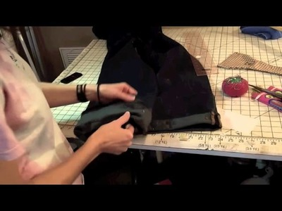 Sewing Lessons: How to hem jeans and keep original hem.