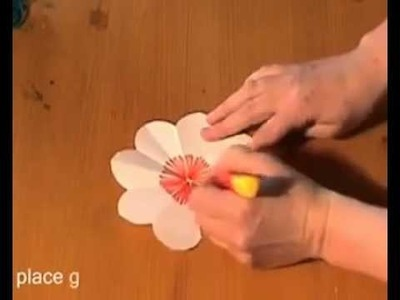 Simple flower gift card