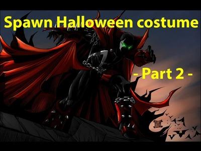 Spawn Halloween costume - part 2 -