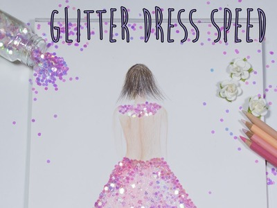 Speed Art Color Pencil and Glitter ♥