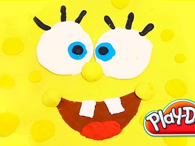 Spongebob made of Play Doh Bob Esponja plastilina playdo