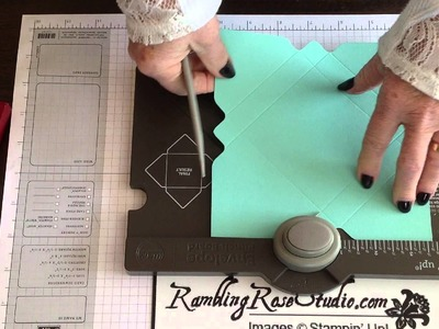 Stampin' Up! Envelope Punch Board Gift Card Box