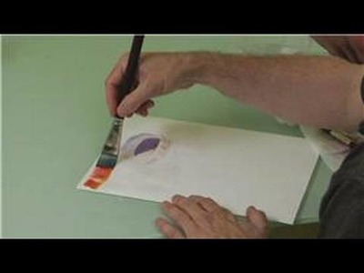 Watercolor Painting: A Bowl : Watercolor Painting a Bowl: Filling in the Background