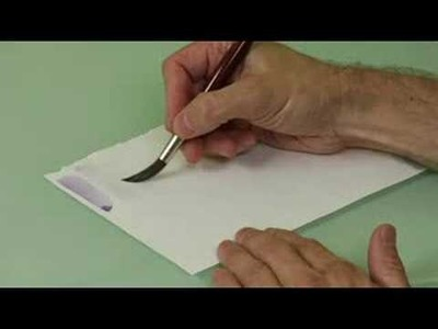 Watercolor Painting Basics : Painting Watercolor Light Washes