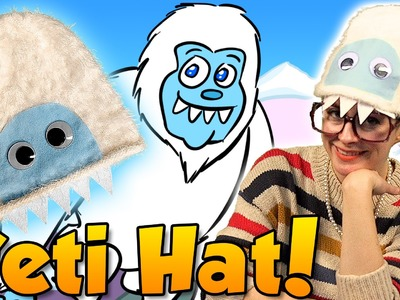 Yeti Hat aka Abominable Snowman Hat Craft | Arts and Crafts with Crafty Carol at Cool School