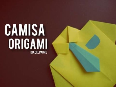Camisa Origami. dia del padre