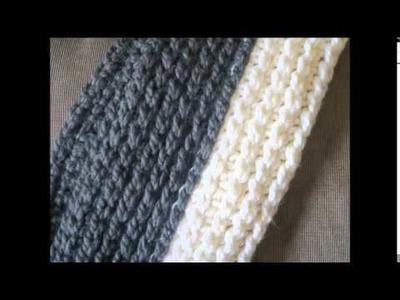 Chunky Infinity Scarf Crochet Pattern, Knit Look Crochet Scarf, Addison Infinity Scarf