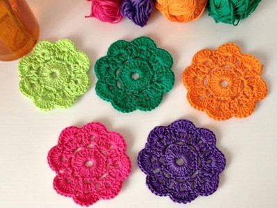 Cómo hacer la Flor Maybelle a crochet