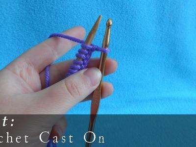 Crochet Cast On { Knit }