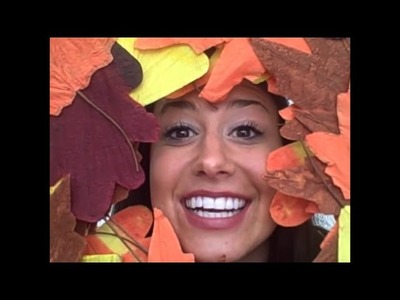 ❤️ DIY Craft! How to make a Cute Autumn Wreath! ❤️