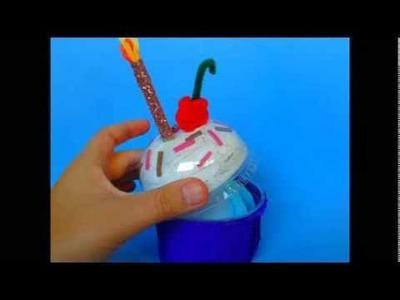 DIY. Cupcake box ♥ Manualidades. Cajita cupcake