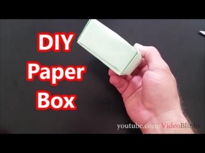 DIY Paper Box Origami