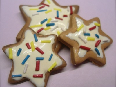 DIY: Polymer clay Tutorial biscotti natalizi!.christmas biscuits!