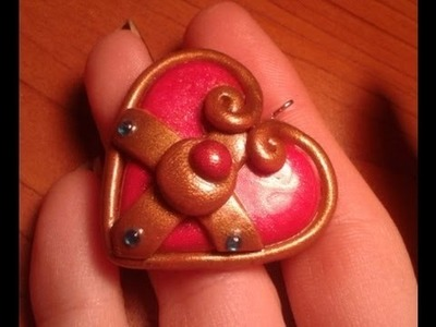 DIY: Polymer clay Tutorial Sailor Moon Charm