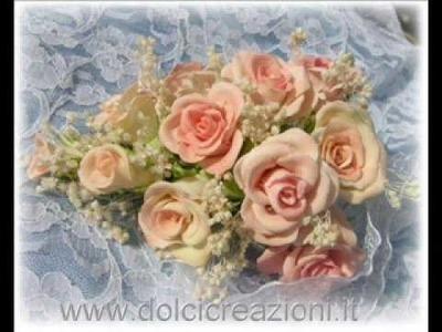 Fiori in pasta di mais - Cold porcelain flowers
