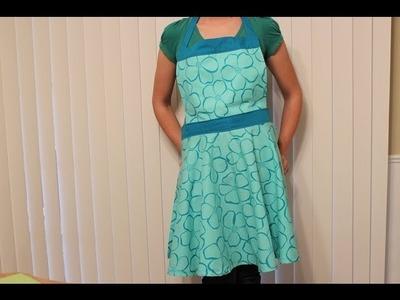 Full Length Apron Tutorial DIY- Whitney Sews