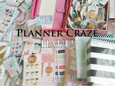 Huge Planner Haul!