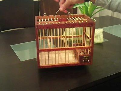 Jaula artesanal 6 .  craft cage 6