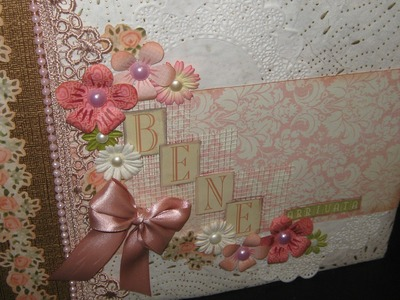 Mini album Baby Girl- Scrapbooking Tutorial | Scrapmary