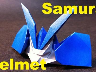 Origami Samurai Helmet Part 2