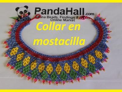 Pandahall spring beading contest Collar en mostacilla
