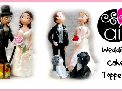 Polymer Clay Update | Wedding Cake Toppers | Gli ultimi Cake Toppers Matrimoniali