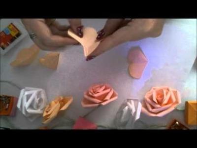 Rose(Origami-Kirigami) by Katherine Glick
