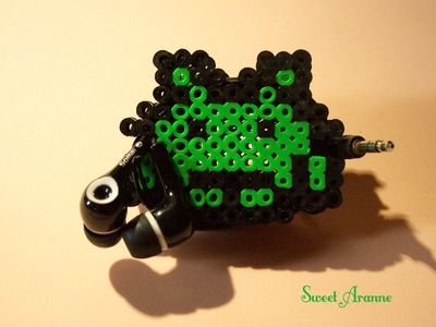 Tutorial Perler Beads: Guarda- Auriculares (Cord Organizer)