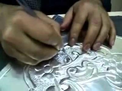 Aluminum Foil Embossing Art