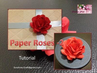 D.I.Y. Paper Roses - 2