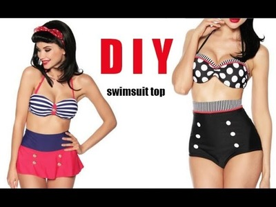 DIY Swimsuit top (easy)